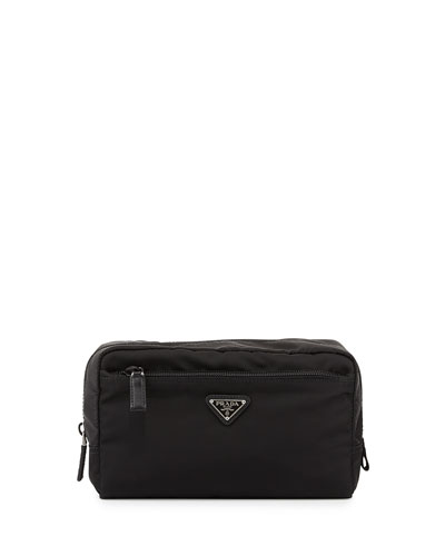 Vela Large Cosmetics Bag, Black (Nero)