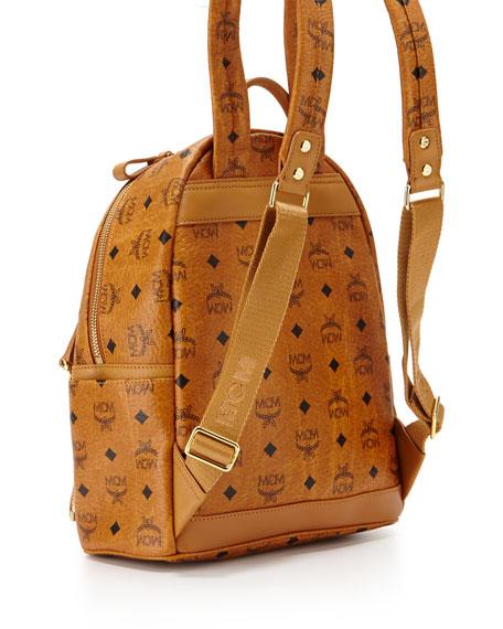 Dual Stark Small Backpack, Cognac