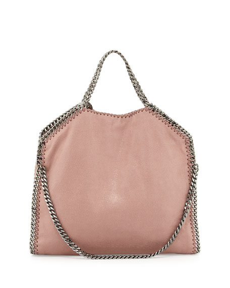 Falabella Fold-Over Tote Bag, Pink (Nude)