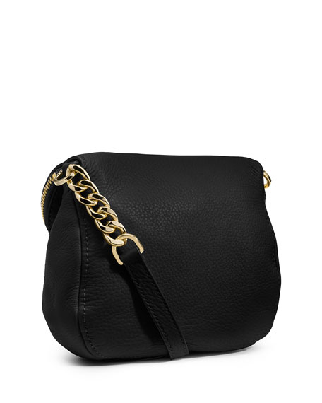 Bedford Flap Crossbody Bag, Black