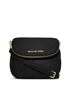 fc18f96a8f2d MICHAEL Michael Kors Bedford Flap Crossbody Bag, Black