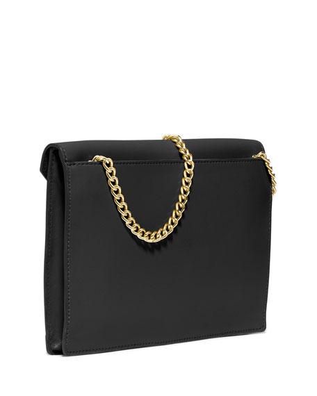 MICHAEL Michael Kors Lana Envelope Clutch Bag, Black