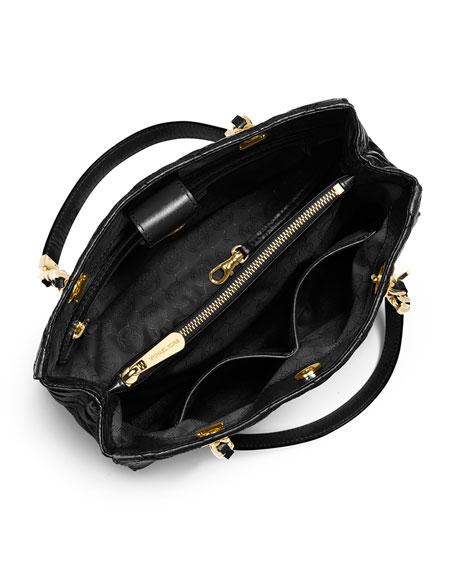 b4017aff2785 MICHAEL Michael Kors Susannah Quilted Medium Tote Bag, Black