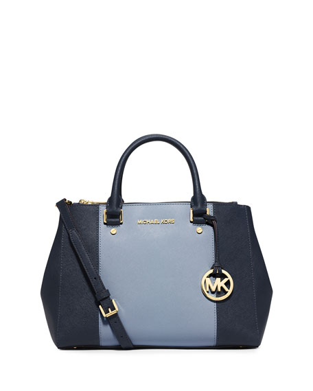 c57528288fa4 MICHAEL Michael Kors Sutton Medium Saffiano Satchel Bag