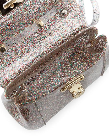Candy Bon Bon Glittered Mini Crossbody, Multi