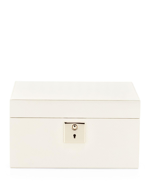 40c166e65952 Smythson Panama Single-Tray Jewelry Box