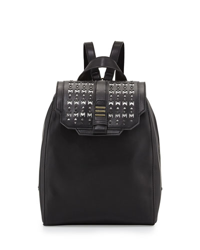 Athens Backpack, Black/White