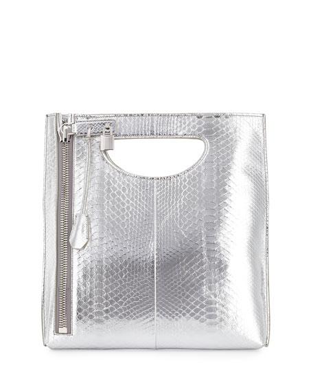 TOM FORD Alix Zip & Padlock Crossbody Bag,