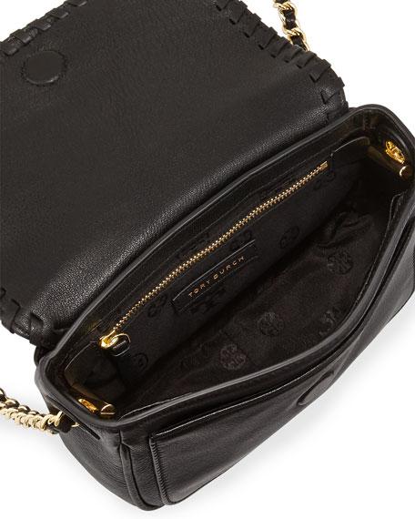 8d04e48d1f Tory Burch Marion Mini Flap Bag, Black