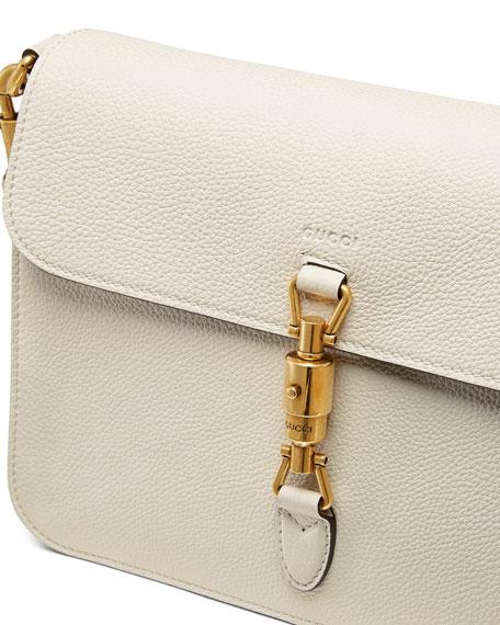 Jackie Soft Shoulder Bag, White