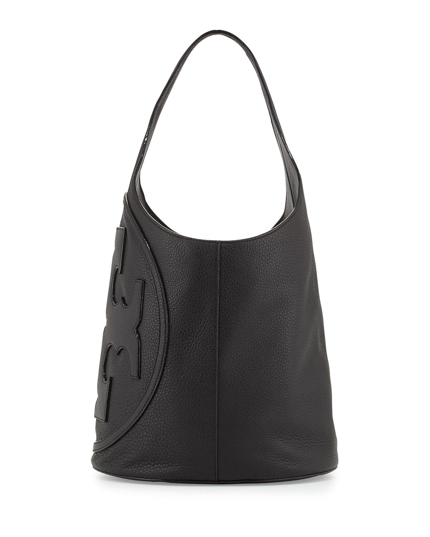 b008eebae46d Tory Burch All-T Leather Hobo Bag