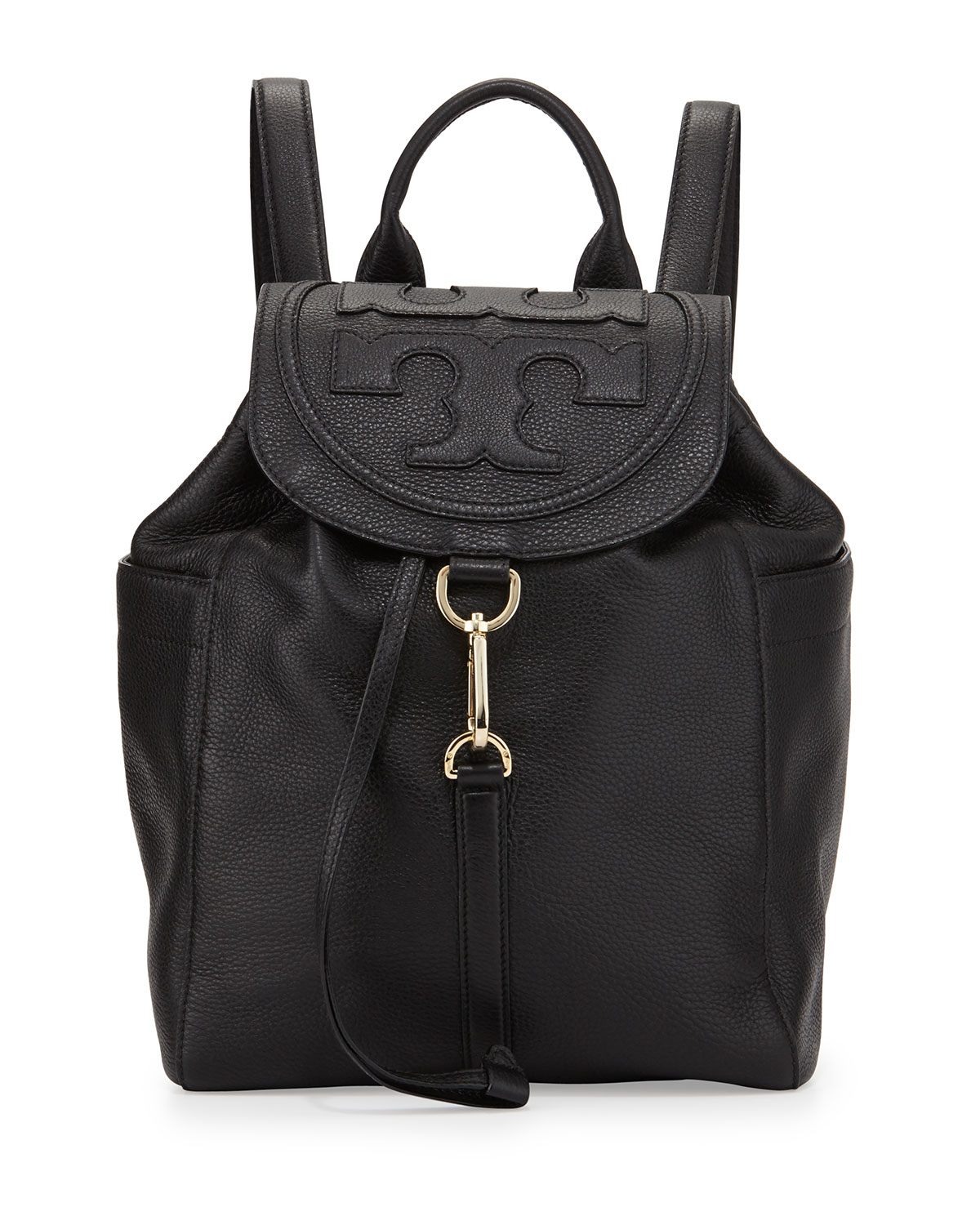 d94fc6fad8a Tory Burch All-T Drawstring Fold-Over Backpack