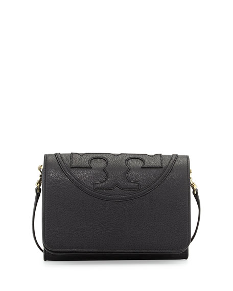 Tory Burch All-T Combo Crossbody Bag, Black