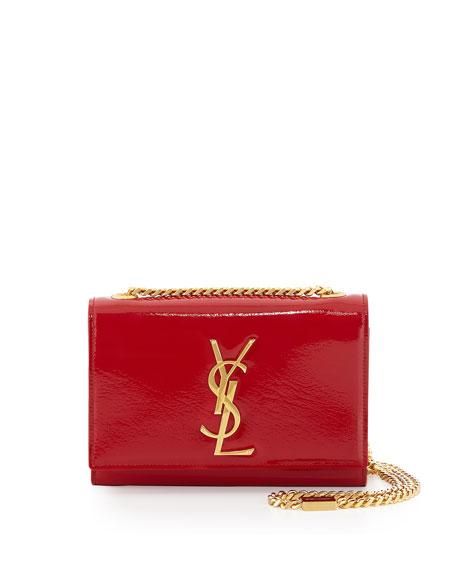 Monogram Small Crossbody Bag Red Yves Saint Laurent