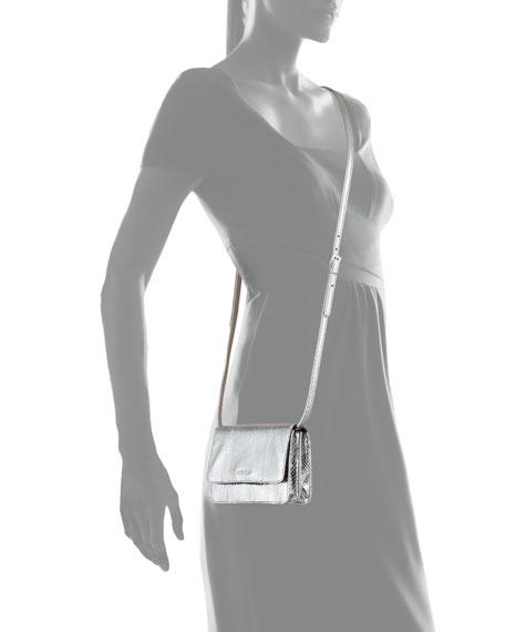 Prada small bag chrome