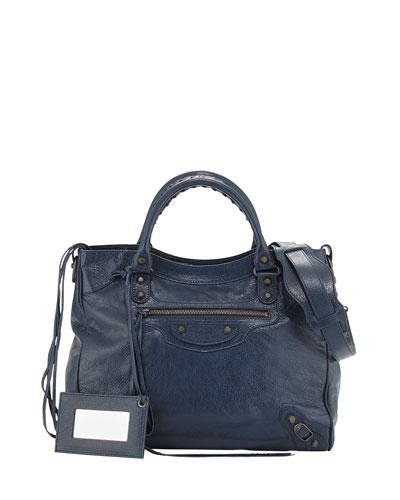 Classic Velo Crossbody Bag, Bleu Obscur