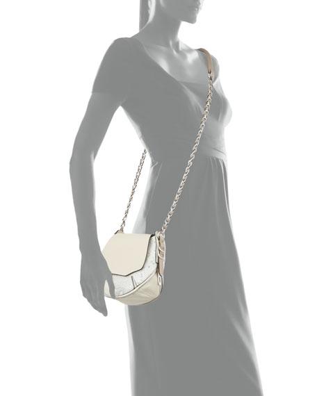Bradbury Mini Python-Embossed & Leather Hobo Bag