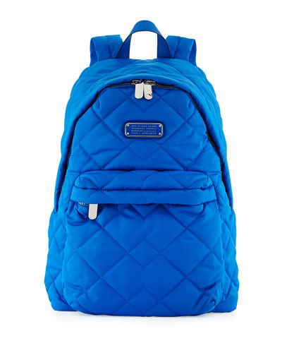Crosby Quilted Nylon Backpack, Salton Sea