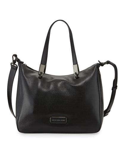 Ligero Ninja Shoulder Tote Bag, Black