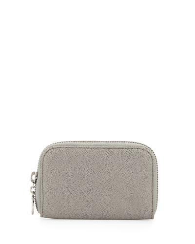 Zip-Around Wallet, Gray