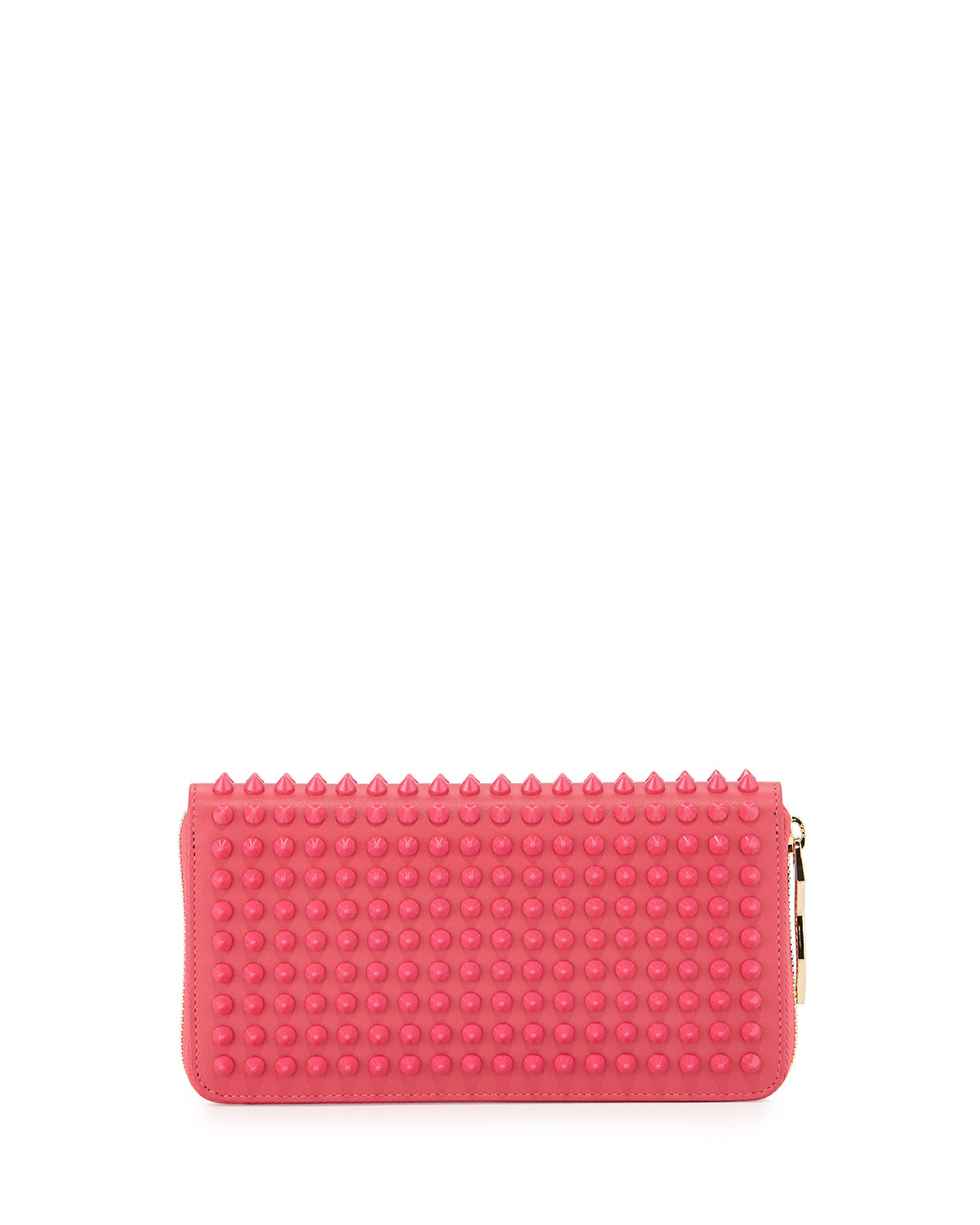 a7c5eb3581a Panettone Spike Stud Continental Wallet, Pink