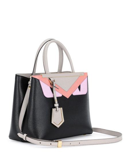 Fendi Monster Tote Bag Black Multi