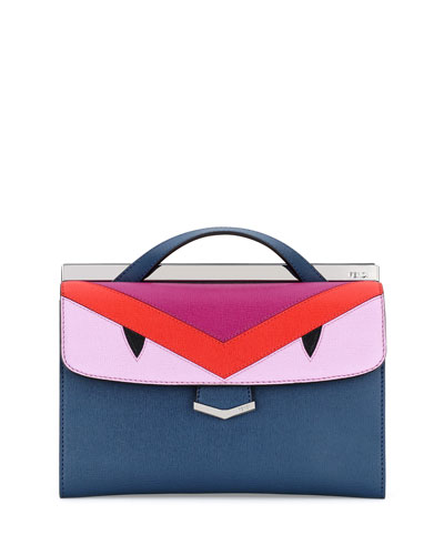 Demi Jour Mini Monster Bag, Blue Multi
