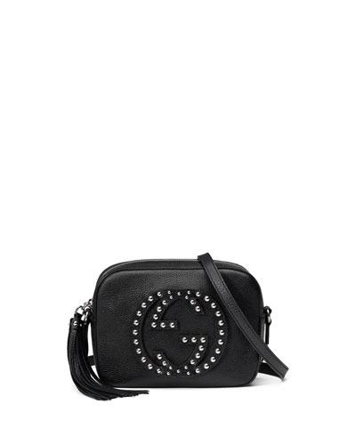 17858b5742b0 Gucci Soho Studded Leather Disco Bag