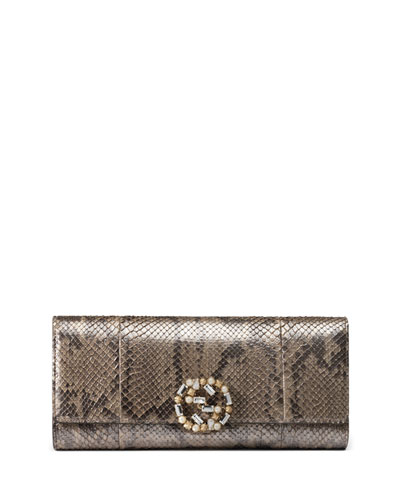 Broadway Python Evening Clutch Bag