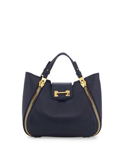 Sedgwick Mini Zipper Tote Bag, Sapphire Blue