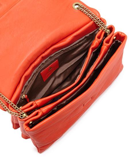 Sugar Medium Chain Shoulder Bag, Orange