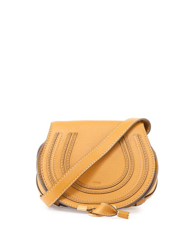 Marcie Small Crossbody Bag, Tan