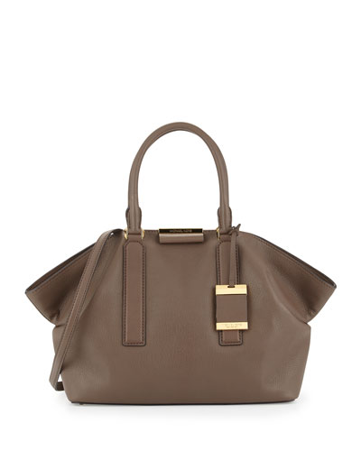 Lexi Large Satchel Bag, Elephant