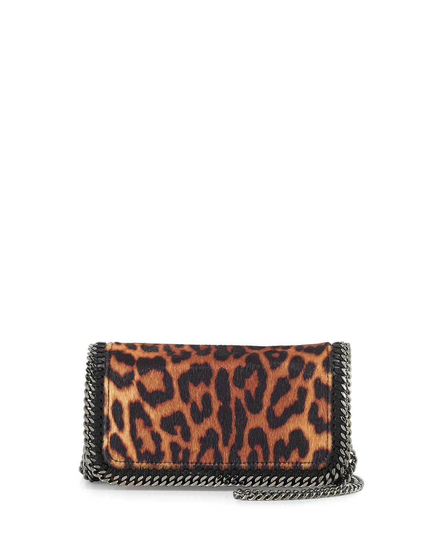 3db5f6eb765d Stella McCartney Falabella Leopard-Print Crossbody Bag