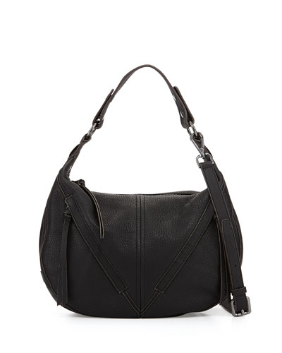 Pamela Hobo Bag, Black