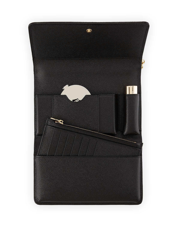 990a5734678 Dolce & Gabbana Miss Sicily Lipstick Mini Crossbody/Wallet, Leopard |  Neiman Marcus