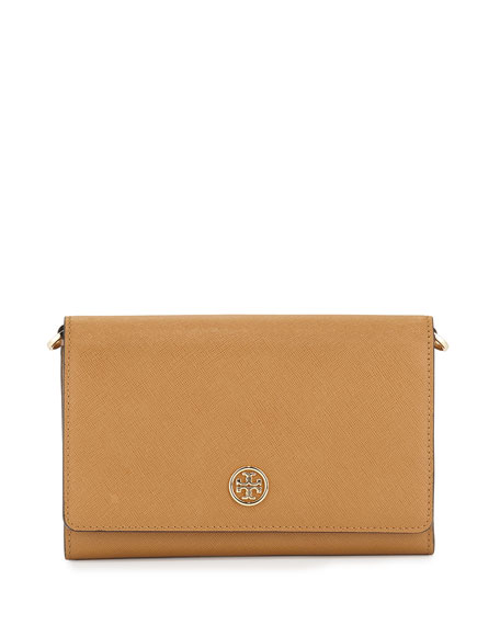 Tory Burch Robinson Wallet-On-Chain, Tigers Eye