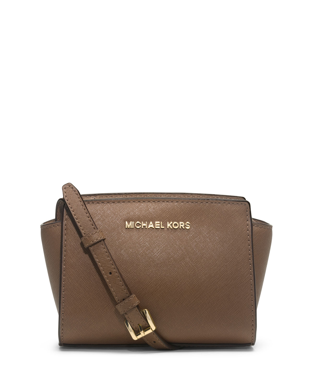 d1f2f7317357 MICHAEL Michael Kors Selma Mini Saffiano Messenger Bag