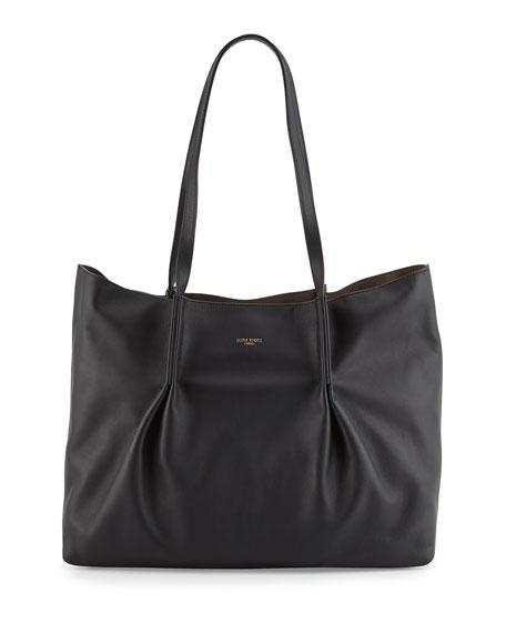 Nina Ricci Ondine Calf Tote Bag, Black