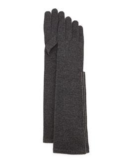 Cashmere-Blend Gloves