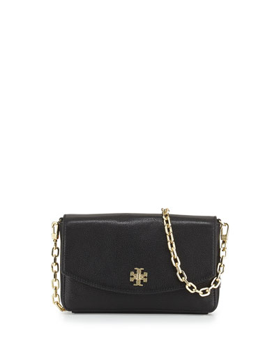 Mercer Classic Leather Crossbody Bag, Black