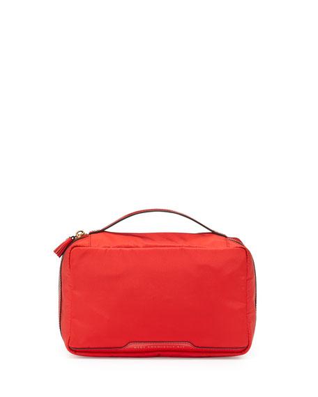 Anya Hindmarch Nylon Baby Emergency Kit, Red