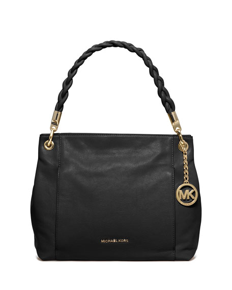 MICHAEL Michael Kors Naomi Large Twist-Strap Tote Bag,