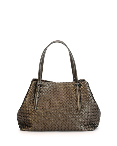 Medium A-Shaped Tote Bag, Bronze