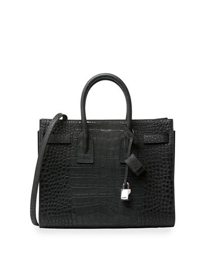 Sac de Jour Alligator Small Carryall Bag