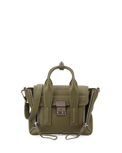 Pashli Mini Satchel Bag, Military
