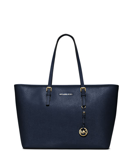 Jet Set Medium Zip-Top Tote Bag