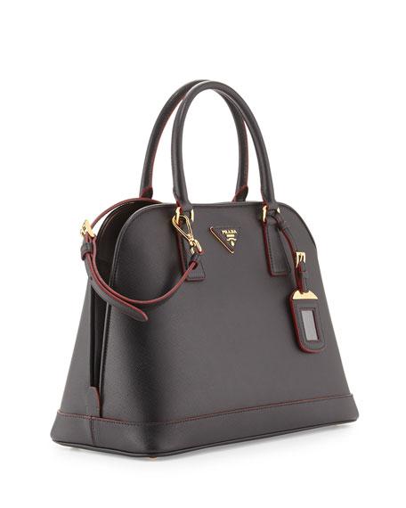 ... sale fake handbags thailand prada saffiano lux promenade bag black red  nero b7640 a3799 2d799cbb2e2b1