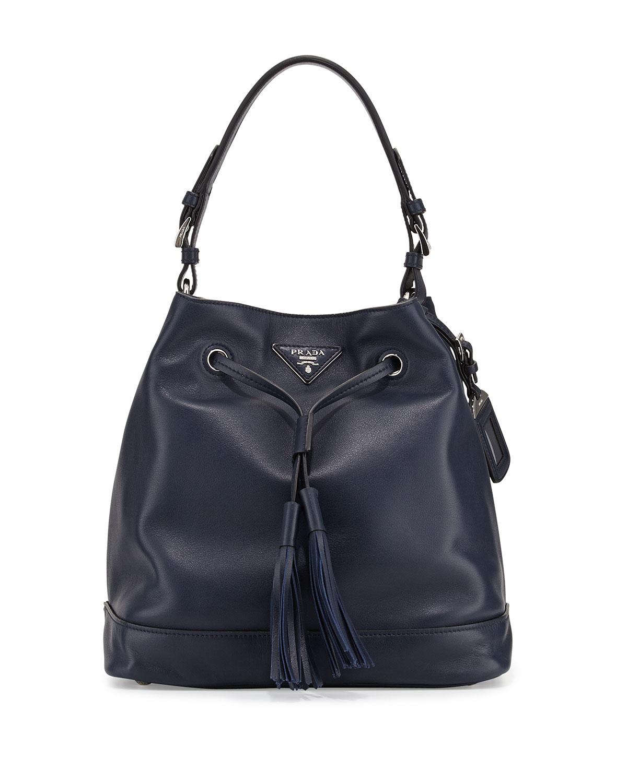 b86e4fb4ed11 Prada Soft Calf Bucket Bag