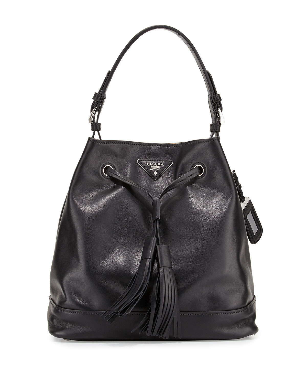 Prada Soft Calf Bucket Bag 0b2e13762d7d2